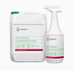 Płyn do dezynfekcji powierzchni Velox foam extra 1l