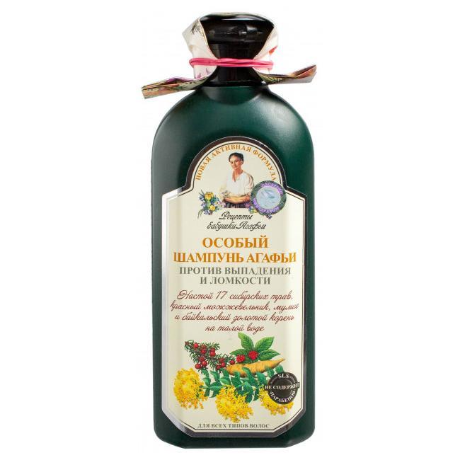 Babcia Agafia szampon do włosów Przeciw Wypadaniu ziołowy 350ml