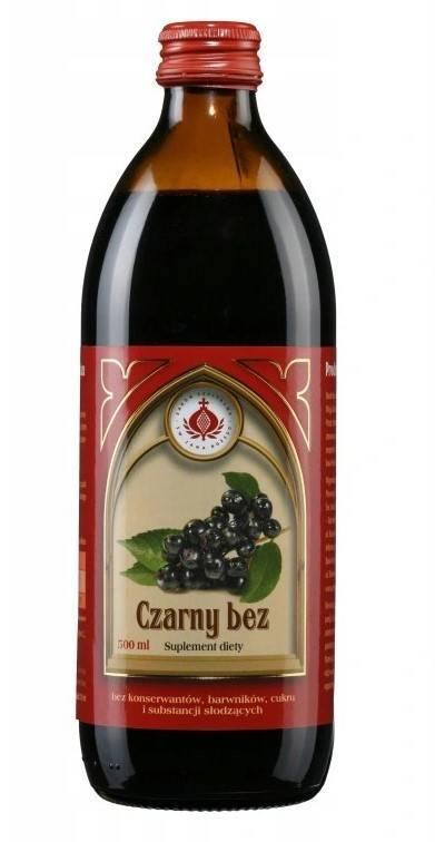 Bonifrates sok z czarnego bzu 500ml