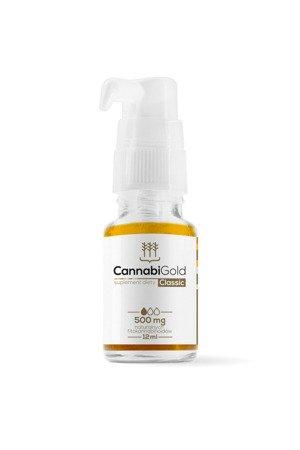 CannabiGold Classic 12 ml, 500 mg CBD