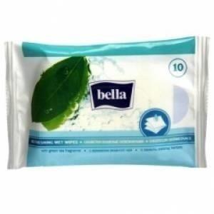 Chusteczki Bella nasączone odświeżające 10 SZT