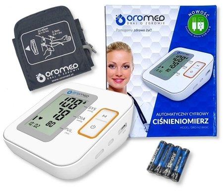 Ciśnieniomierz elektroniczny ORO-N2BASIC