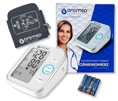 Ciśnieniomierz elektroniczny ORO-N6BASIC