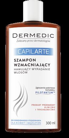 Dermedic Capilarte szampon wzmacniający, na utratę włosów 300ml