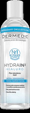 Dermedic Hydrain3 Hialuro płyn micelarny H2O 200ml