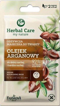 Farmona Maseczka odżywcza Olejek arganowy 2x5ml