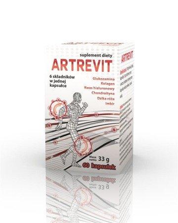 Gorvita Artrevit, 6 składników, 60 kaps.