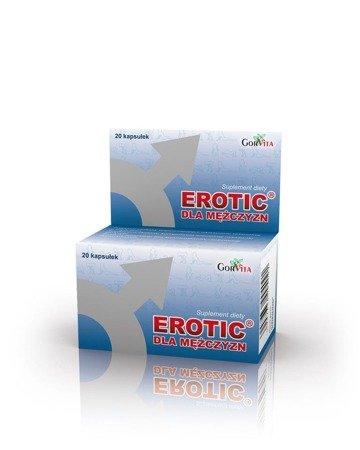Gorvita Erotic afrodyzjak dla mężczyzn 20 kaps.