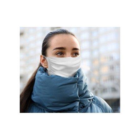 Maseczka ochronna na twarz z jonami srebra wielokrotnego użytku