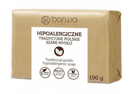 Mydło Barwa hipo tradycyjne szare 190g