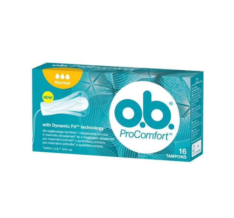 OB tampon normal 16 szt procomfort
