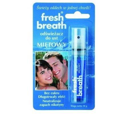 Odświeżacz do ust Fresh Breath miętowy