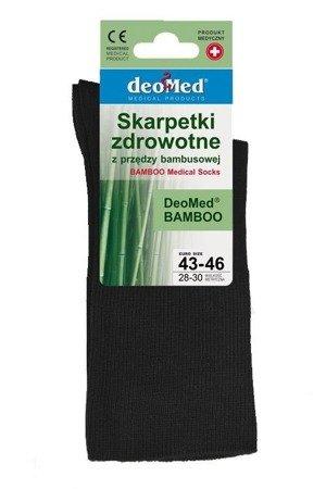 Skarpetki zdrowotne Deomed Bamboo czarne