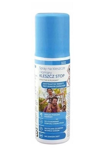 Spray na komary i kleszcze Kleszcz Stop 65ml