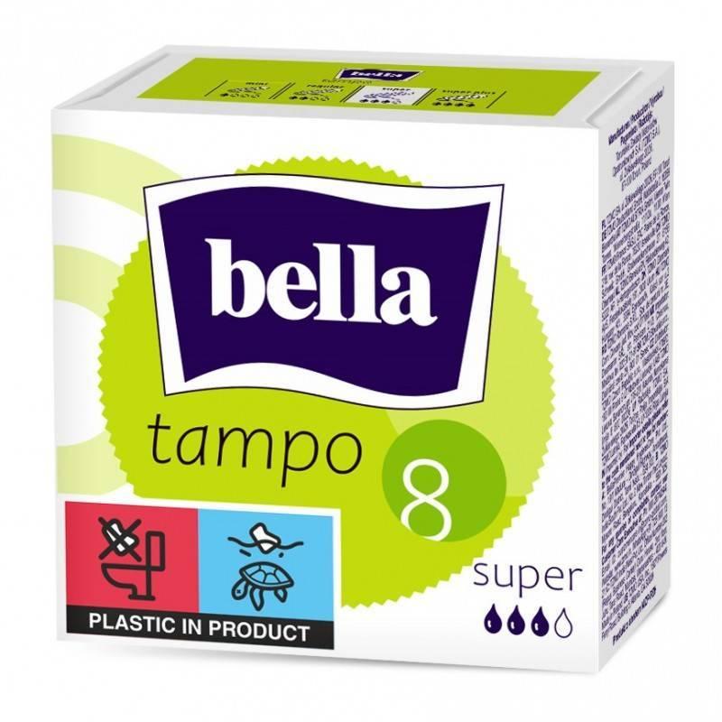 Tampon Bella z otwieraniem Easy Twist 8 SZT
