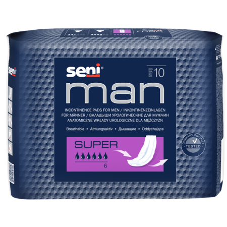 Wkłady anatomiczne Seni Man Super 20 SZT
