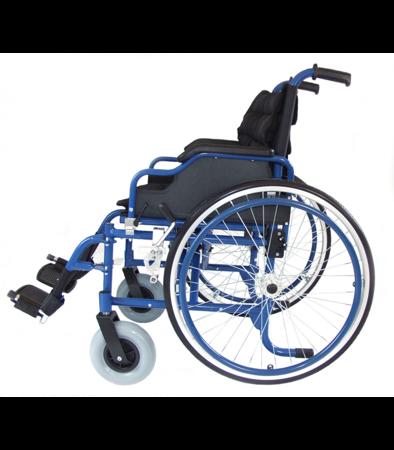 Wózek Inwalidzki aluminiowy IWR roz. 46 niebieski