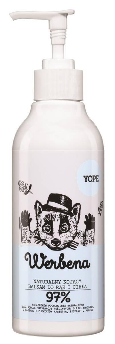 YOPE balsam do rąk i ciała werbena 300 ml