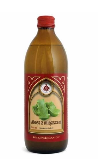 Bonifrates sok z aloesu z miąższem 500ml