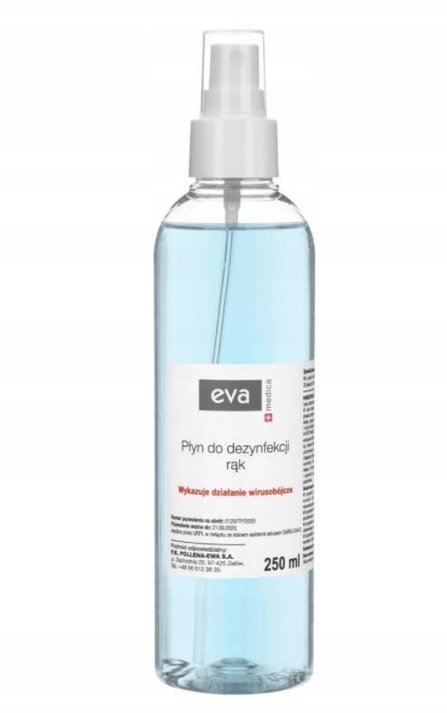 Eva Medica płyn do dezynfekcji rąk 250ml
