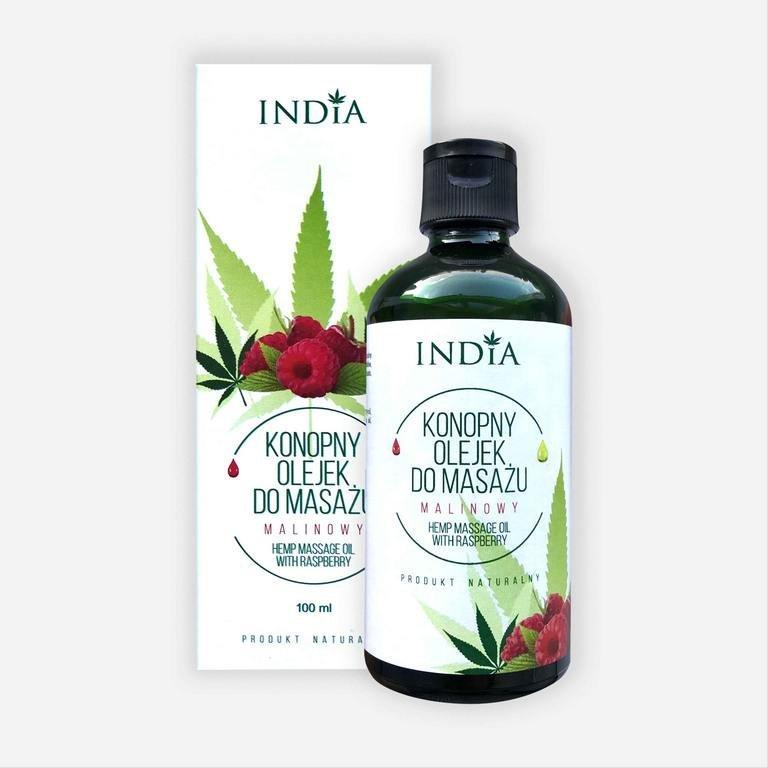 India olejek do masażu malinowy 100ml