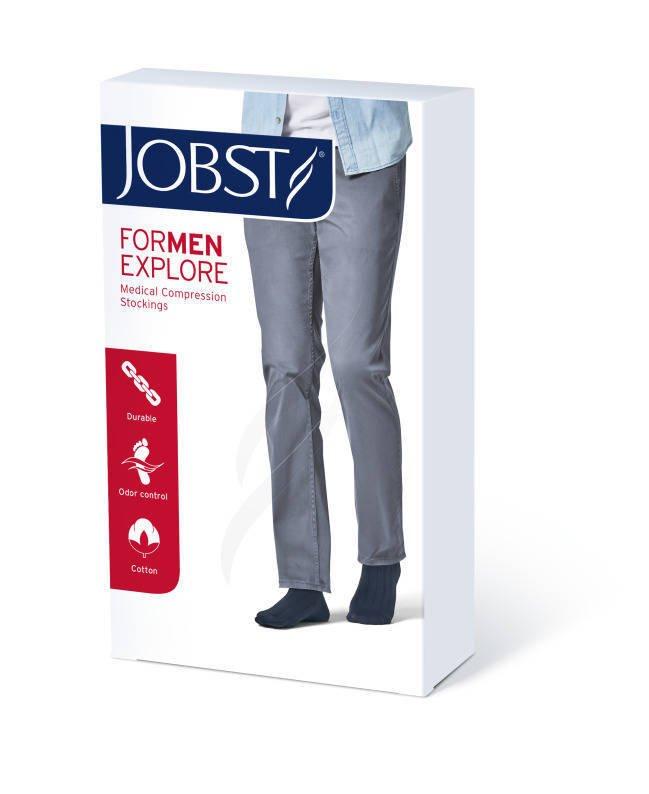 Jobst For Men Explore podkolanówki zamknięte palce ccl1 czarny 5