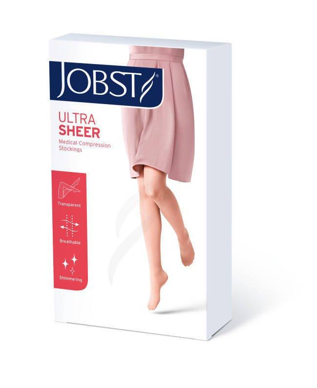 Jobst Ultra Sheer podkolanówki zamknięte palce ccl1 czarny 4
