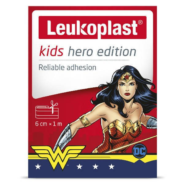 Leukoplast plaster Kids Hero Edition 6cmx1m
