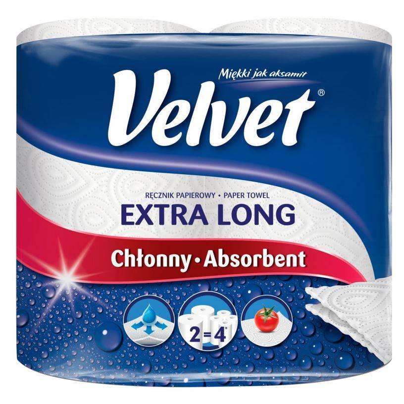 Ręcznik papierowy Velvet 2+1 szt
