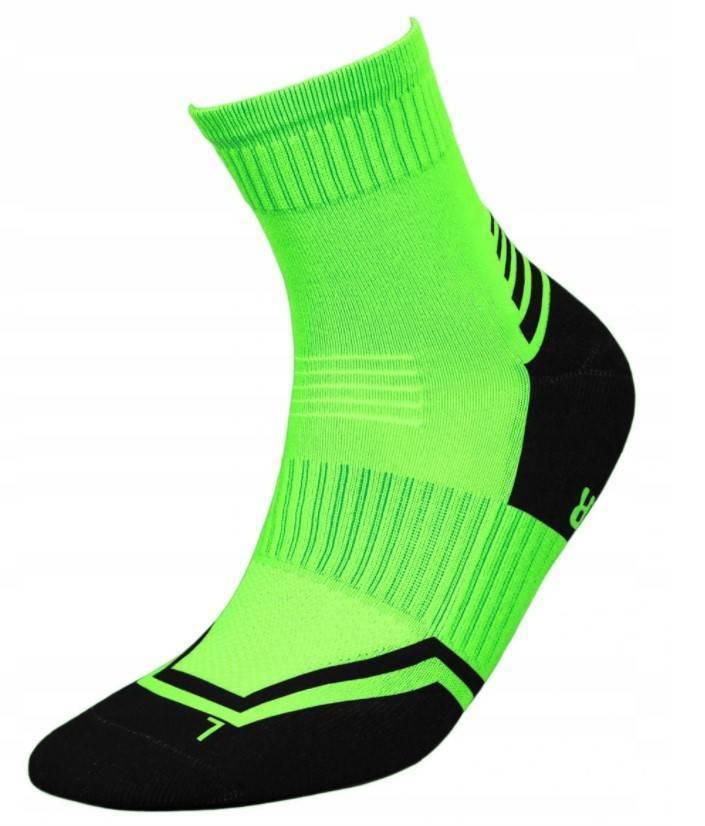 Skarpetki Runner Silver zielony+czarny