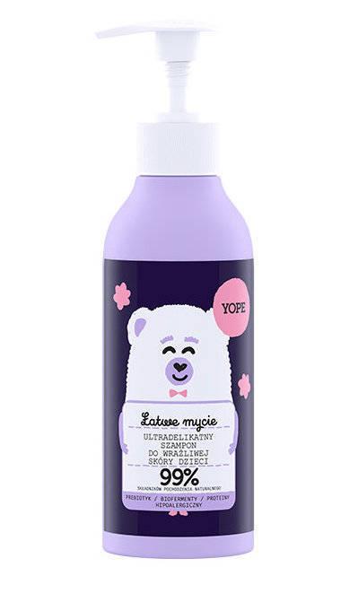 Yope Ultradelikatny szampon do wrażliwej skóry dla dzieci 300ml