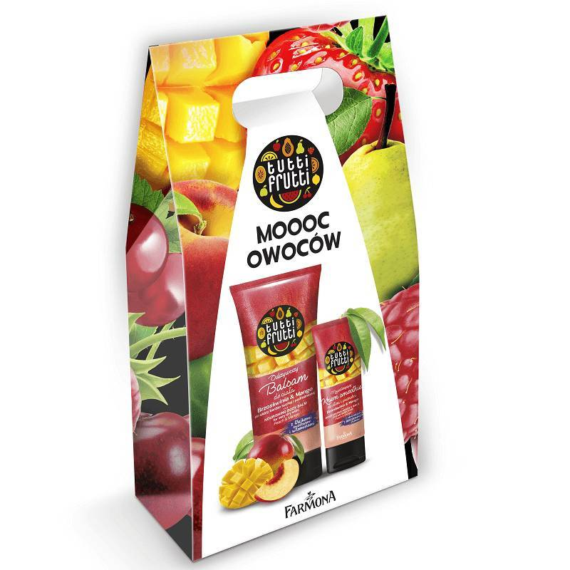 Zestaw Tutti Frutti Brzoskwinia & Mango